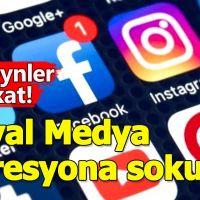 Sosyal medya gençleri depresyona sürüklüyor!