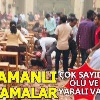 Sri Lanka'da kiliseler ve otellerde patlama