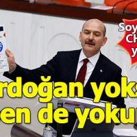 """Süleyman Soylu: """"Erdoğan yoksa, ben de yokum"""""""