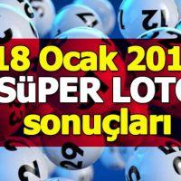 Süper Loto çekiliş sonuçları 17 Ocak 2019 | Milli Piyango süper loto çekilişi ikramiye tutarı bilet sorgulama