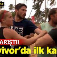 Survivor 2018'in ilk kavgası! Turabi ile Hakan...