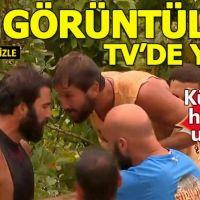 Survivor Turabi Adem kavga görüntüleri (TV'de yok)