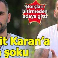 Survivor Ümit Karan'a haciz şoku