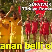 Survivor'da Türkiye - Romanya mücadelesinin galibi belli oldu! Türkiye - Romanya karşılaşmasını kim kazandı?