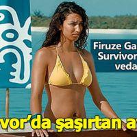 Survivor'da yaşanan sürpriz ayrılığın sır perdesi aralandı! Firuze Gamze Aksu adaya neden veda etti?