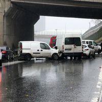 TEM otoyolunda zincirleme trafik kazası!