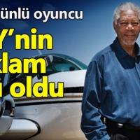 THY'nin reklam yüzü Morgan Freeman oldu