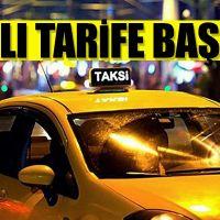 Taksi zamları uygulanmaya başlandı