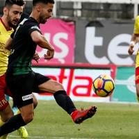 Teleset Mobilya Akhisarspor 0-0 Evkur Yeni Malatyaspor (Maçın özet görüntüleri)