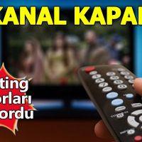 Televizyon dünyasında kapanan kanallar