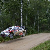 Toyota Estonya Rallisi'nde