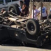 Trabzon ve Şanlurfa'da zırhlı araç devrildi: 13 polis yaralı