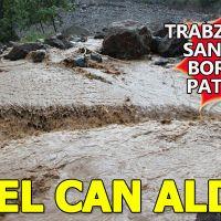 Trabzon'da santral borusu patladı! 2 kişi öldü 8 kişi kayıp