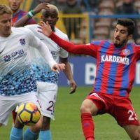 Trabzonspor Karabük'e takıldı - Karabükspor 1-1 Trabzonspor Maç özeti