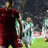 Trabzonspor:1 Konyaspor:0 MAÇ SONUCU