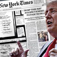 Trump çok eleştirmişti! O gazetelere acımadı