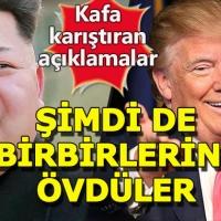 Trump'tan kafa karıştıran Kuzey Kore açıklaması