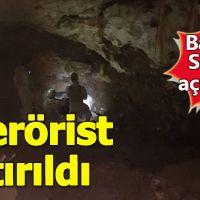 Tunceli'de bir mağarada 5 terörist kıstırıldı