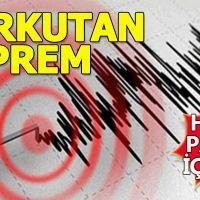 Tunceli'de deprem! Halk panik içinde