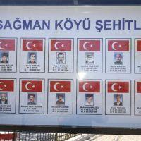 Tunceli'de olan 12 vatandaş için anıt yapıldı