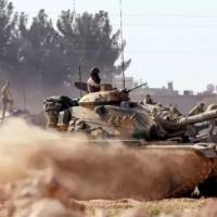 Türk askeri El Bab'a girdi