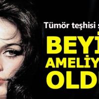 Türkan Şoray beyninden ameliyat oldu