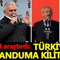 Türkiye 16 Nisan'daki referanduma odaklandı