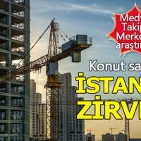 Türkiye'deki konut satışında zirve İstanbul'un