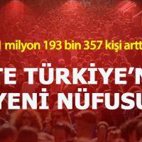Türkiye'nin nüfusu ne kadar 2019 - İstanbul,Ankara,İzmir,Bursa illerin nüfus sayıları
