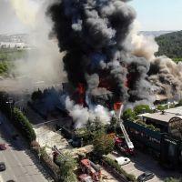 Tuzla'daki fabrikada patlama! Yaralılar var