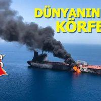 Umman Denizi'nde saldırıya uğrayan petrol tankeri battı