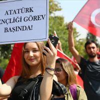 PKK'ya tepki için yürüdüler