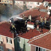 Üsküdar'da korkutan yangın