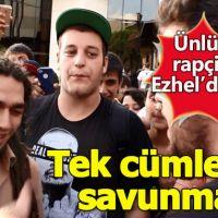 Uyuşturucu davasından yargılanan Ezhel'den tek cümlelik savunma!