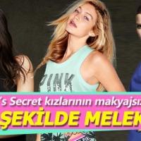 Victoria's Secret meleklerinin makyajsız halleri!