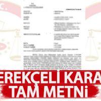 YSK gerekçeli karar tam metni oku indir | İstanbul seçimi 200 sayfalık iptal gerekçesi