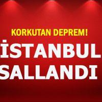 Yalova'da deprem meydana geldi! İstanbul'da sallandı