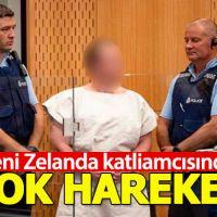 Yeni Zelanda katliamcısından mahkemede dikkat çeken hareket!