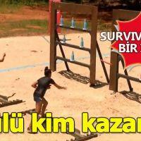 Yeni formatta bir ilk Survivor ödül oyunu kime gitti?