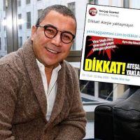 Yeniçağ'dan Veyis Ateş manşeti: Dikkat ateşle yaklaşmayın