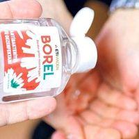 Yerli el dezenfektanı Borel seri üretimde
