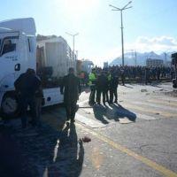 Yolcu otobüsü ile TIR çarpıştı: 36 yaralı