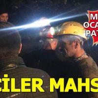 Zonguldak'ta özel maden ocağında patlama!