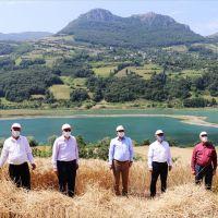 Samsun'da buğday hasat töreni gerçekleştirildi