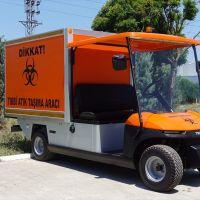 """Bursa'da üretilen elektrikli araçlar """"tıbbi atık"""" toplayacak"""