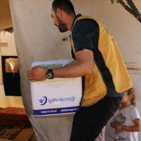 İyilik Derneğinden Suriye'deki ihtiyaç sahiplerine gıda yardımı