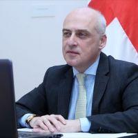 """Gürcistan Dışişleri Bakanı Zalkaliani: """"Azerbaycan-Gürcistan-Türkiye'nin ortaklığı bölgesel iş birliğinin örneği"""""""