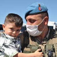 Bingöl'de görevli Mehmetçik Suriye'ye uğurlandı