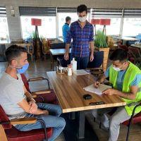 Ağrı'da karantina kuralını ihlal eden 5 kişiye para cezası