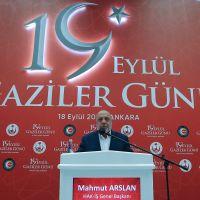 Bakan Soylu, 19 Eylül Gaziler Günü etkinliğine katıldı: